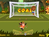 flash игра Animal football 2010