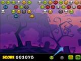 flash игра Bubble shooter Halloween