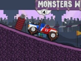 flash игра Monsters wheels game