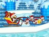 flash игра Santa Mario delivery