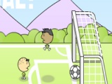 flash игра 1 on 1 soccer brazil