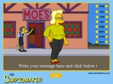 flash игра Simpson maker