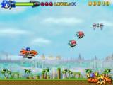 flash игра Sonic sky impact