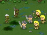 flash игра Knights vs Zombies