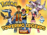 flash игра Pokemon: towering legends