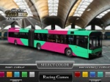 flash игра Winter bus driver