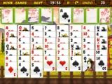 flash игра Samurai solitaire Y8