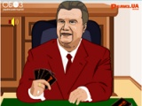At fool with President
