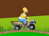 flash игра Simpsons: starving race