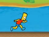 flash игра Run Bart run