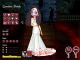 flash игра Zombie bride dressup