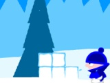 flash игра Snowball battle