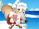 flash игра Cute squirrel: dress up