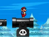 flash игра Super mario snow adventure