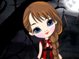 Scary cute girl: dress up
