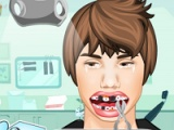 flash игра Justin Bieber: dental problems