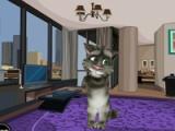 flash игра Talking Tom: Room Decoration