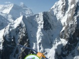Hidden targets: Snow mountain