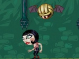 flash игра Vampire Volleyball