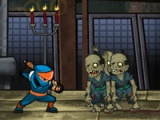 permainan flash Ninja vs Zombies 2