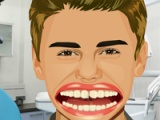 flash игра Justin Bieber Perfect Teeth