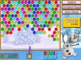 flash игра Bubble Olaf