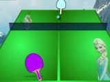 flash игра Frozen Table Tennis