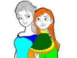 Princesa Anna y Elsa