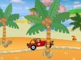 flash игра Mario - beach drive