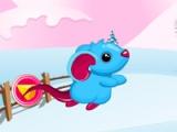 Cute rat racing