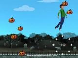 flash игра Halloween: pumpkins jumper