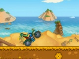 flash игра Adventure bike