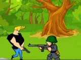 flash игра Johnny Bravo: military zone