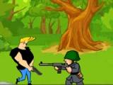 Johnny Bravo: military zone