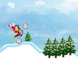 flash игра Santa Claus bike