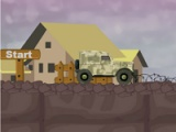 flash игра Military jeep