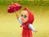 flash игра Masha and Bear: At a picnic