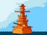 flash игра Turn based marine war