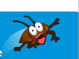 flash игра Cafards: Office Roach Toss