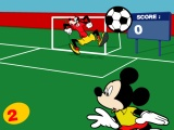 flash игра A Football Land of Mickey