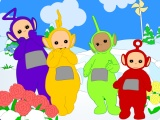 flash игра Teletubbies:  Down the hill
