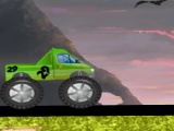 flash игра Monster Truck Halloween Race