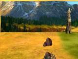 Alpha and Omega: tree bark sled ride