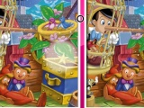 Pinocchio : 10 differences