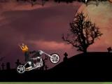 flash игра Halloween Ghost Rider