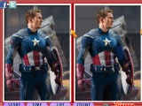 Captain America: Differences