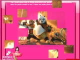 flash игра Kung Fu Panda Puzzle