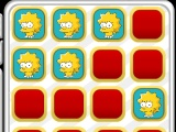 flash игра Bart and Lisa memory tiles