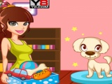 flash игра Puppy Beauty Spa