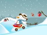 flash игра Santa's new sled